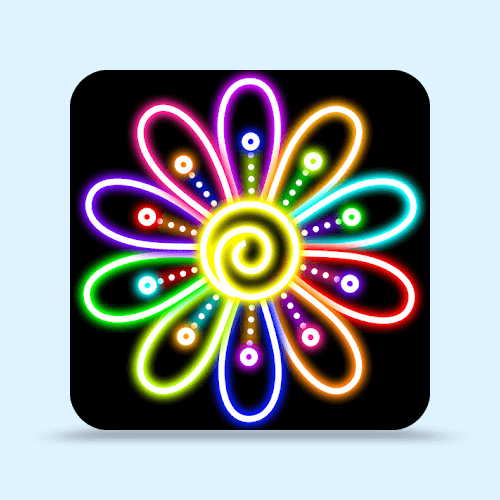 Doodle Drawing - Glow Draw Art