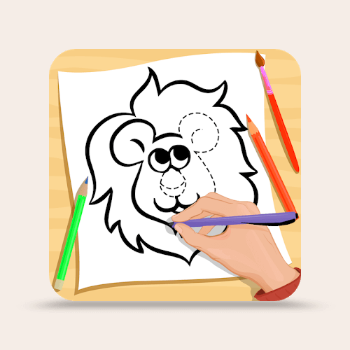 Learn How To Draw Animals - Animal Drawing Book