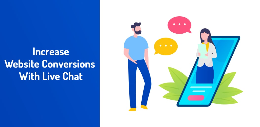 Increase Website Conversions With Live Chat