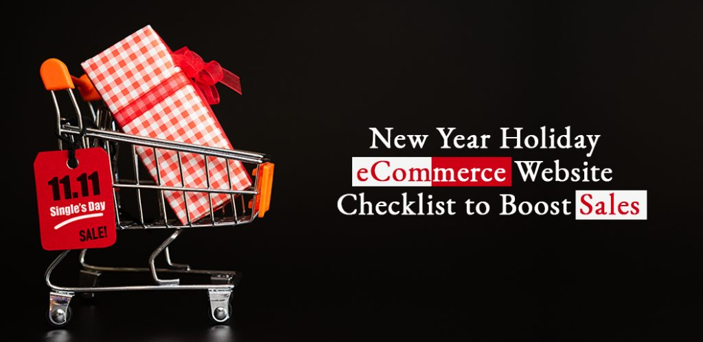 New Year Holiday eCommerce Website Checklist to Boost Sales